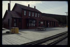 Carcross Train Station