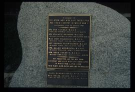 Atlin - World War II Memorial