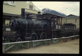 Original Engine in Skagway