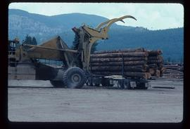Heavy Machinery and Logging Truck