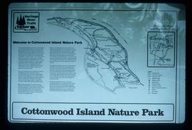 Cottonwood Park Sign