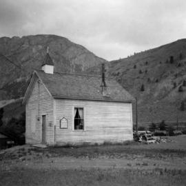 United Church in Spences Bridge in the Fraser Canyon