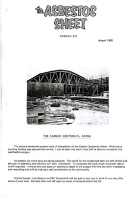 The Asbestos Sheet Aug. 1968