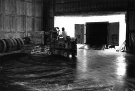 1965 - Forklift Loading Asbestos Bags