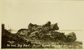 "Prince Rupert site during the great ""last blast"""