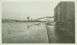 Flooding at the CNR yard at Prince George