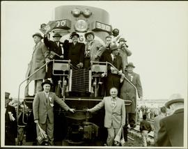 Inaugural run of the Pacific Great Eastern Railway 1