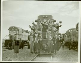 Inaugural run of the Pacific Great Eastern Railway 2