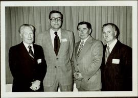 Ray Williston with other men