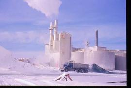 Pulpmill - General - Pulp Mill exterior - winter scene