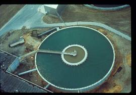 Pulpmill - General -Treatment pool - aerial