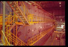 Pulpmill - General - Pulp mill interior - system of catwalks and staircases
