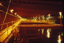 Pulpmill - General - Pulp mill interior - catwalks over and around pool