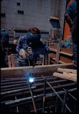 Pulpmill - Expansion Project - Welding rebar