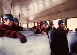 Community Album - Mine Crew inside Bus