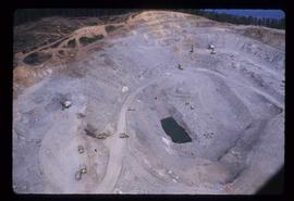 Communities - General - Aerial of Granisle copper mine (Houston)