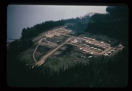 Communities - General - Aerial of Granisle, Babine Lake
