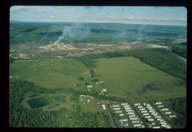 Community - Prince George -  Aerial view of B.C.R. Industrial Park