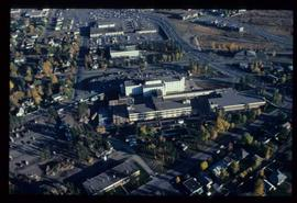 Community - Prince George -  Aerial view of Prince George Regional Hospital