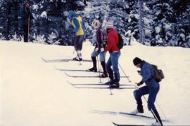 Community Album - Group of Five Skiers