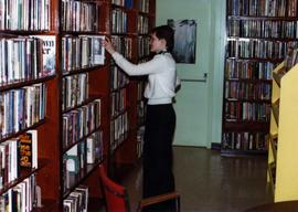 Community Album - Unidentified Woman in Library