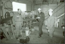 Workplace Album - Clark, Guderjahn, & Pichler in Carpenter Shop