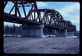 Woods Division -Fraser River Bridge Project - Bridge completed