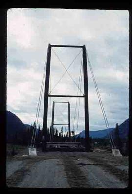 Woods Division - Bridges - Camp 3 bridge over the McGregor River