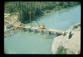 Woods Division - Bridges - Construction of unidentified bridge