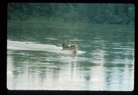 Woods Division - Timbercruising - Boat on river for field trip