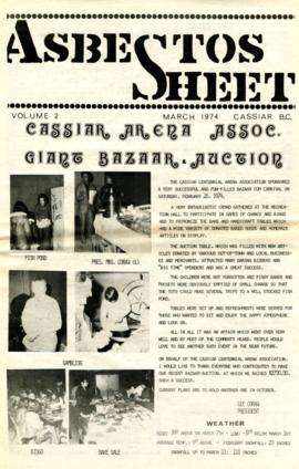 The Asbestos Sheet Mar. 1974