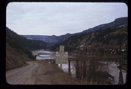 Cuenivey (?) Creek bridge to [Haneeville?] March 54