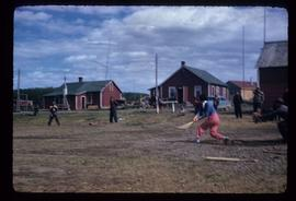 Base ball game in Lejac