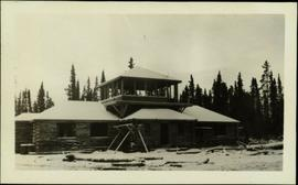Administration Building, Teslin Lake, YT
