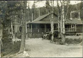 Main Building of Douglas Lodge, Stuart Lake, BC