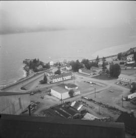 View of Britannia Beach town site