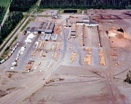 Woods Products Division - Prince George Sawmill - Aerials