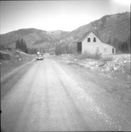 Site of the Coquihalla Summit depot on the Kettle Valley Railway