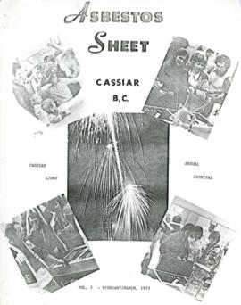 The Asbestos Sheet Feb. 1973?