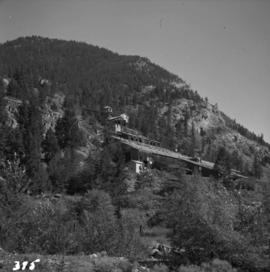 Derelict gold mine at Hedley, BC