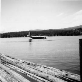 Mars flying boat on Sproat Lake