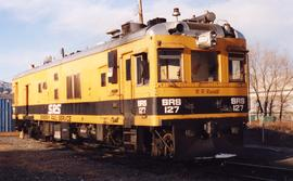 Sperry Rail Service inspection car