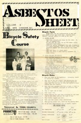 The Asbestos Sheet June 1974