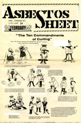 The Asbestos Sheet Feb. 1976