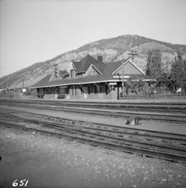 C.N.R. Kamloops Junction depot