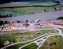 Woods Products Division - Shelley Sawmill - Aerials