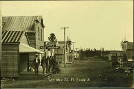 Second Street in Fort George, BC