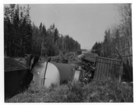Canadian National Rail derailment