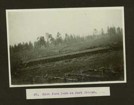 Rich farm land at Fort Fraser