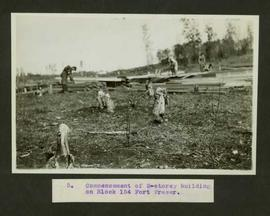 Construction in Fort Fraser